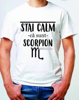Tricou cu zodia Scorpion