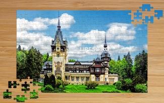 Puzzle Palatul Peleș