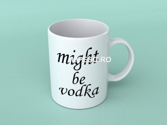 Cană might be vodka