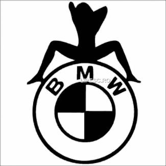 Sticker funny BMW