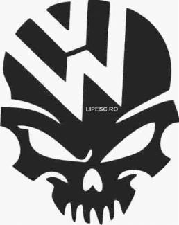 Sticker monster vw
