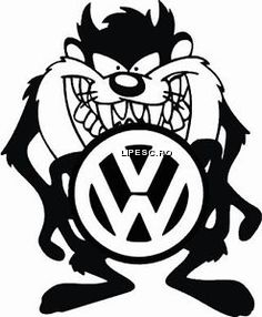Sticker vw Tazmatian