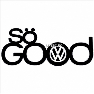 Sticker vw- so good